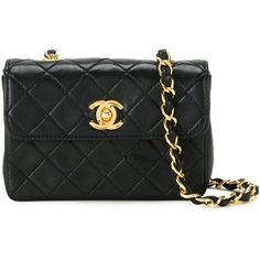e497e2fcaf91 Chanel Vintage Small Quilted Crossbody Bag ( 2