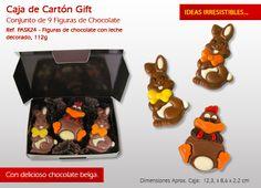 ¡Figuras de chocolate para los más pequeños! ¡Vea aquí nuestra oferta les encantará!