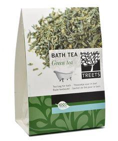 Treets Wellness Badetee, Green Tea, 1er Pack (ca. 3 x 70 g) Duft Grüner Tee