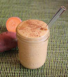 A Sweet Potato Smoothie That Tastes Like Ice Cream