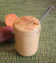 A Sweet Potato Smoothie That Tastes Like Ice Cream
