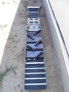 10 Inch - Fold Up Sluice Box with Rail Track System Classifier & Flare (Killer ) | Business & Industrial, Construction, Mining Equipment | eBay!