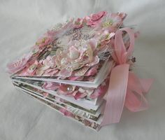 Other: Shabby Chic Fairy Paper Bag Scrapbook Album