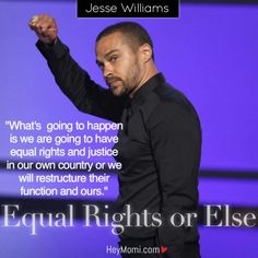 Jesse Williams Speech on Black Lives, Equal Justice And Freedom Gave Us Life!