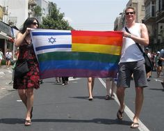 """Israel is the only country in the Middle East with real rights for the LGBT community. Gay marriages performed abroad are recognised (no secular marriages are performed in Israel regardless of gender/sexual identity) and soldiers may be openly LGBT in the army. Protective laws against discrimination are in place. In the past few years, 300 gay Palestinians have crossed illegally into Israel hoping for a better life - being gay in Gaza constitutes 10 years in prison"""
