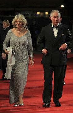 Prince Charles and Camilla. A Diana, she's not. A homewrecker, she is.