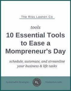 Are you debating starting your own business from home? Or, are you a seasoned mompreneur looking for company and guidence on your journey? This article is perfect for SAHM and WAHM who are looking for mompreneur advice. Click through to read the article and grab your *BONUS* mompreneur tool guide!!