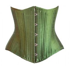 Green Corset ($99) ❤ liked on Polyvore featuring tops, green corset top, corsette tops, green corset, green top and corset tops