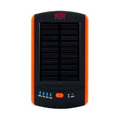 Amazon.com: EZOPower Dual USB Output Portable Solar External Backup Battery Charger 6000MAH for Smartphones / E-readers / MP3 Players and More USB Powered Devices: Cell Phones & Accessories