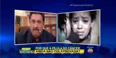 ASSISTA AQUI – Ontem durante seu programa, Ratinho aproveitou para desabafar e emocionar a todos nós ao mostrar a história de uma garotinha que precisa de remédios para vencer o câncer e não …