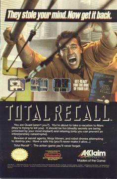 Total Recall Acclaim NES