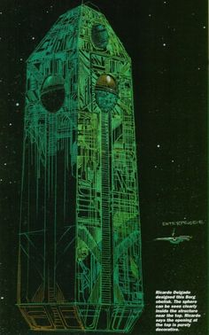 Star Trek First Contact; Borg invasion concept art