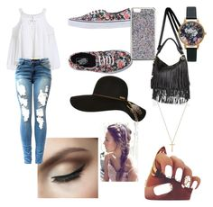 """""""Untitled #22"""" by emshort on Polyvore featuring Vans, River Island, Billabong, J.Crew, Olivia Burton and Gucci"""