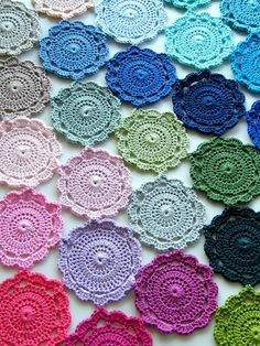 Maisie Flower Motif By Sharron - Free Crochet Pattern - (hookandbake.blogspot)