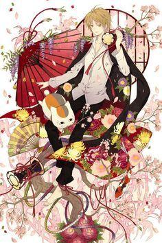Natsume Yujin-cho Natsume saku pillow cushon soft home decorate Hot Anime Boy, All Anime, Me Me Me Anime, Anime Love, Manga Anime, Anime Art, Natsume Takashi, Hotarubi No Mori, Anime Kimono