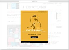 47 Best Paywall images in 2019 | User experience design, Ux