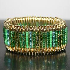 Giverny - Safety Pin Bracelet $20.00