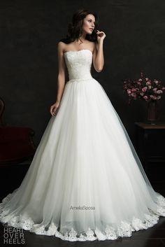 Amelia Sposa 2015 Wedding Dress Style: Filipina   Heart Over Heels #bridal #designer