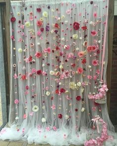 Wedding flower gate - Backdrops for parties - . - - Wedding flower gate – Backdrops for parties – … Engagement Party Wedding flower gate – Backdrops for parties – … Diy Backdrop, Flower Backdrop, Flower Wall, Paper Flower Garlands, Diy Flower, Engagement Party Decorations, Diy Party Decorations, Birthday Decorations, Diy Wedding