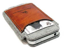 Me gusta, Me gusta #Gadgets Slim Cell Phone Felt Sleeve - moFelt