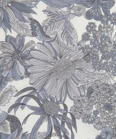 Liberty Art Fabrics Angelica Garla C Tana Lawn | Fabrics by Liberty Art Fabrics | Liberty.co.uk