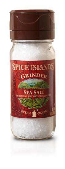 Sea Salt Adjustable Grinder - Adjustable Grinders