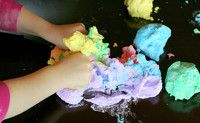 Rainbow Space Dough