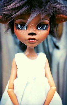 Monster High custom doll.