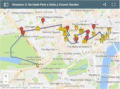 Ruta por Londres - De Hyde Park a Soho y Covent Garden