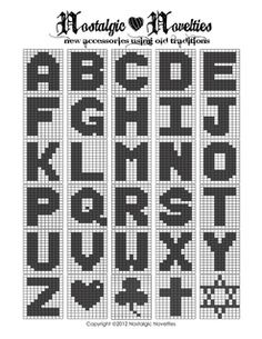 Most recent Cost-Free knitting charts letters Ideas Free Filet Crochet Alphabet Patterns Crochet Letters Pattern, Graph Crochet, Filet Crochet Charts, Crochet Blocks, Crochet Cross, Knitting Charts, Crochet Stitches, Knitting Patterns, Crochet Patterns