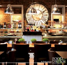 The Aviator in Farnborough stands majestically before Farnborough airfield, its dark-tinted windows reflecting the aircraft circling the skies above. It's a great place for a leisurely breakfast   http://www.foodanddrinkguides.co.uk/farnborough/aviator/restaurant/6105