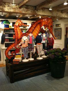 baby shop displays - from Ralph Lauren Kids Store NY