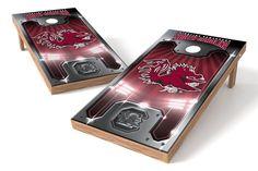 South Carolina Gamecocks Cornhole Board Set - Plate