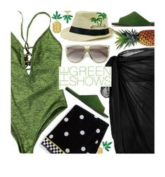 """Vacation Vibes"" by beebeely-look ❤ liked on Polyvore featuring MacKenzie-Childs, Alumnae, beachday, swimsuit, vacation, sammydress and summerglow"
