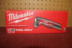 tools: Milwaukee M12 12-Volt Lithium-Ion 3/8 In. Cordless Right Angle Drill (Tool-Only) BUY IT NOW ONLY: $58.95 #priceabatetools OR #priceabate