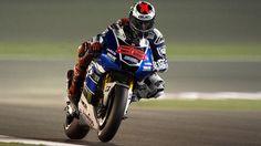 Jorge Lorenzo of Spain and Yamaha Factory Racing