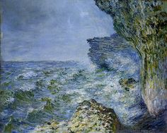 "Claude Monet, ""The Sea at Fecamp,"" 1881"