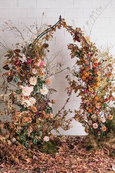 Brace yourself for this stunning autumn wedding styled shoot with a woodsy garden vibe oozing with honey & burnt orange hues. We're in love, we're in love and we don't care who knows it! Garden Wedding, Fall Wedding, Wedding Ceremony, Ceremony Backdrop, Ceremony Decorations, Wedding Backdrops, Floral Arch, Floral Garland, Fall Flowers