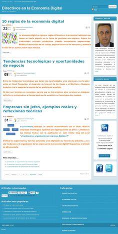 The website 'http://economiadigital.com.es ' courtesy of @Pinstamatic (http://pinstamatic.com)