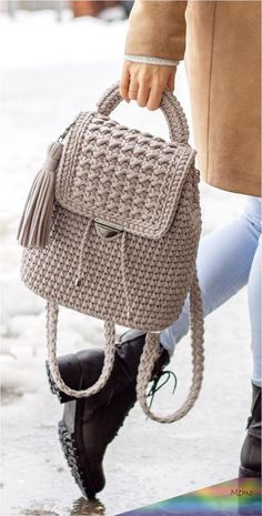 40 Free Crochet Bag Patterns and Hand Bags 2019 Page 33 of 39 2019 crochet patterns free; The post 40 Free Crochet Bag Patterns and Hand Bags 2019 Page 33 of 39 2019 appeared first on Knit Diy. Crochet Backpack Pattern, Free Crochet Bag, Bag Pattern Free, Crochet Poncho Patterns, Crochet Bags, Knitting Patterns, Crochet Handbags, Crochet Purses, Diy Sac