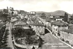 Camerino, panoramica, 1950 circa.