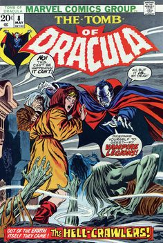 Tomb of Dracula #8 - The Hell-Crawlers (Issue)