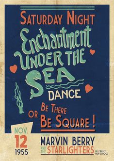 Enchantment Under the Sea Dance Poster, Back to the future is my all time favourite movie. Back To The Future Party, The Future Movie, Science Fiction, Future Days, Cinema Tv, A4 Poster, Bttf, Marty Mcfly, Nostalgia