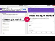 Nuovo Google Moduli: come creare verifiche, test e sondaggi - YouTube