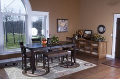 Morton Buildings custom home interior in Morning Sun, Iowa.