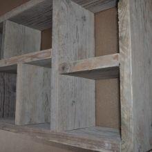 Letterbak steigerhout - 50x80cm