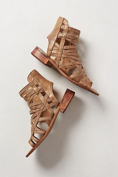 Cage sandals done right! @Anthropologie