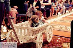 Medium Flower Girl Wedding Wagon  Unfinished by Miniwagons on Etsy, $179.00