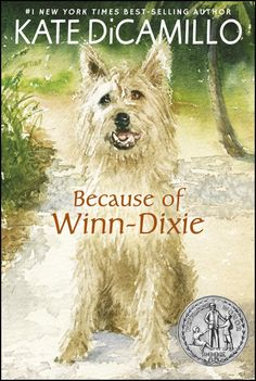 Because of Winn-Dixie by Kate DiCamillo, a Newbery Honor Book, is both poignant and humorous. I recommend both the middle grade novel and the movie.