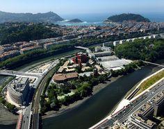 Vista aérea del Campus de San Sebastián.